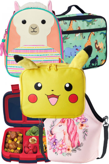 Best lunchboxes on amazon. Bento box for kids, unicorn lunch bag, pokemon pikachu lunch box, jungle lunchbox, alpaca or llama lunch box