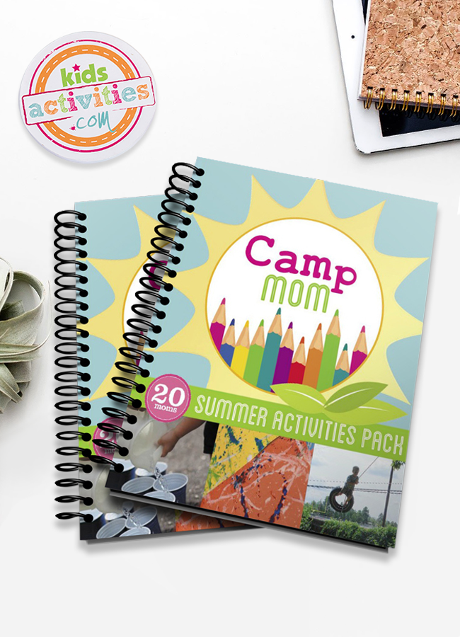Camp Mom Summer Activities Planner