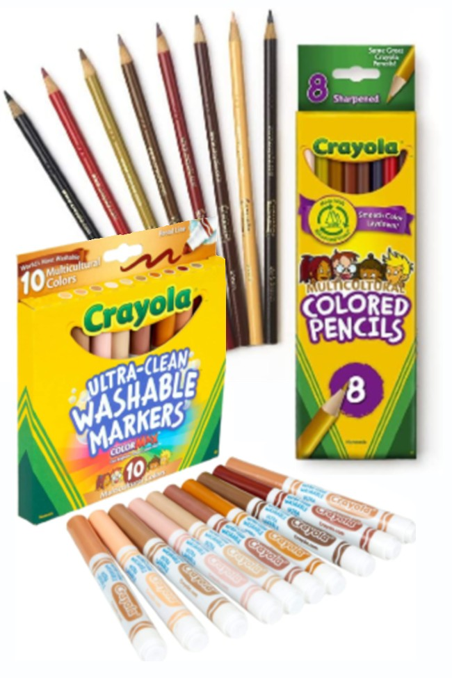 Teachers And Educators Can Receive Free Colors of The World Crayons. Here's How.