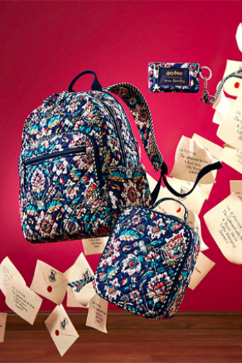 Harry Potter Vera Bradley backpacks and bags inspired by the Wizarding World