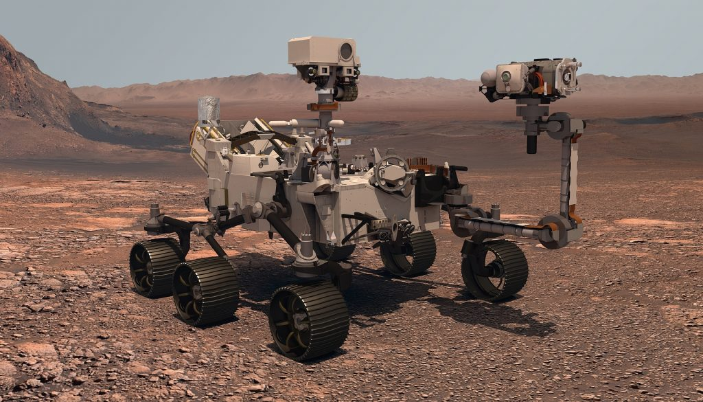 Mars Rover Mission Perseverance