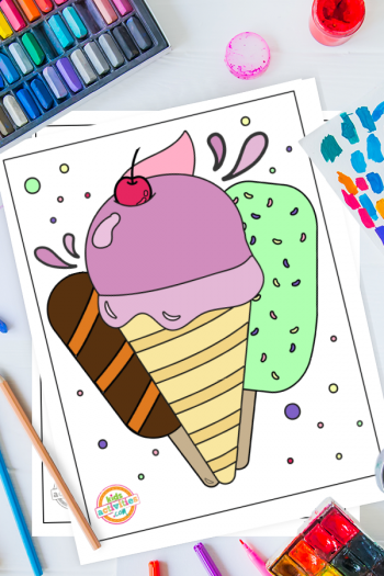 Summer Coloring Pages 2020