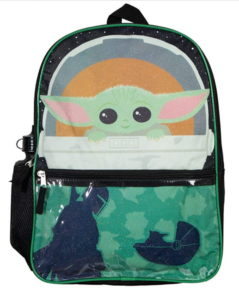 Baby Yoda Backpack, stand alone image
