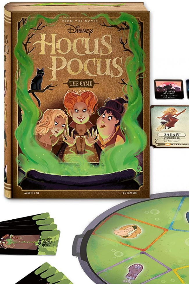 There's a Hocus Pocus Board Game and I Can't Wait To Play It!