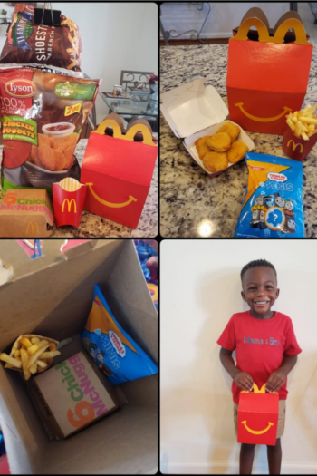 make your on Mcdonalds happy meal