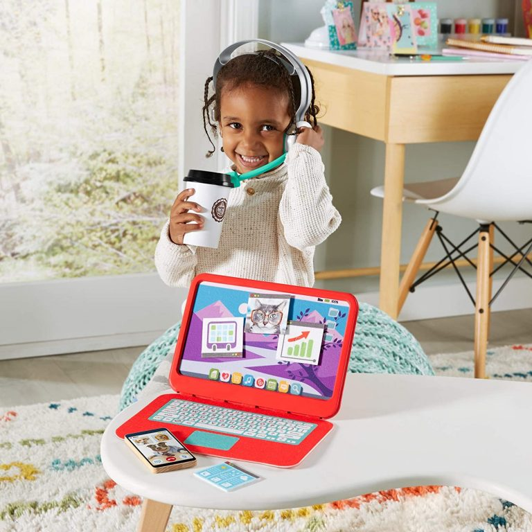 Your Kids Can Pretend To Work From Home With This Fisher-Price My Home Office Playset