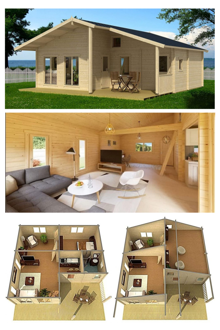 Amazon Is Selling A Tiny House Cabin Complete with 5 Rooms and I Need One