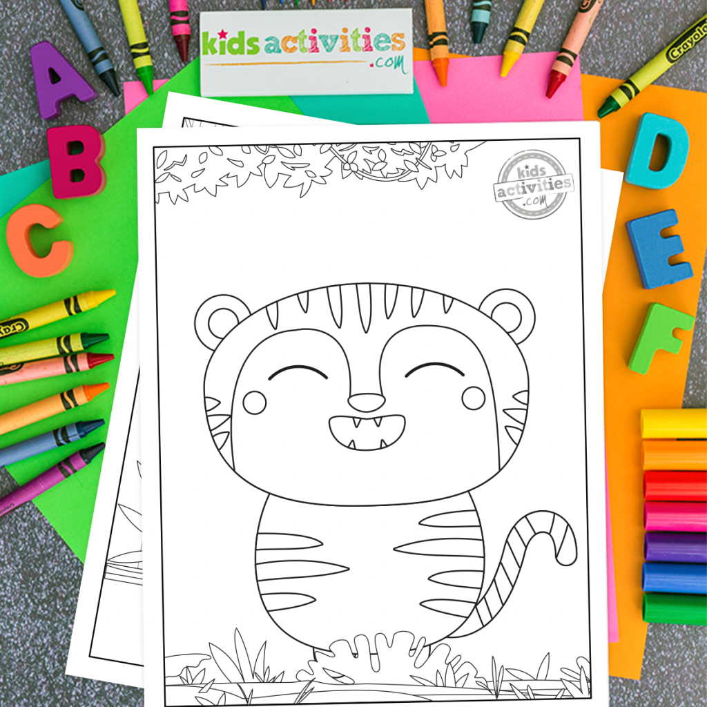 color sheets for kids