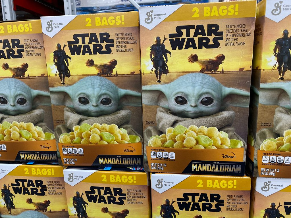 Baby Yoda Cereal, 2 Pack