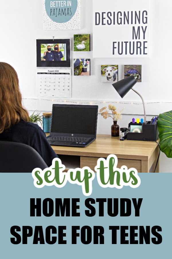 Back-To-School Study Space for Teens
