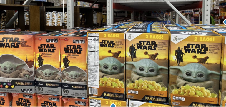 Sam's Club Is Selling Baby Yoda Fruit Snacks and Breakfast Cereal and My Kids Love Them