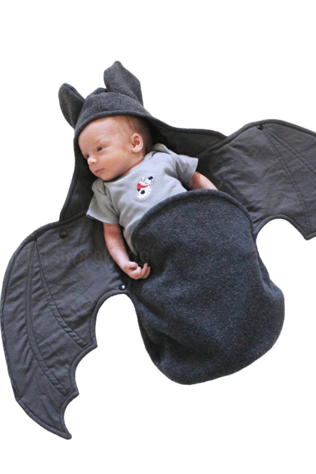 You Can Get A Baby Bat Swaddle Blanket and It's the Cutest Thing Ever