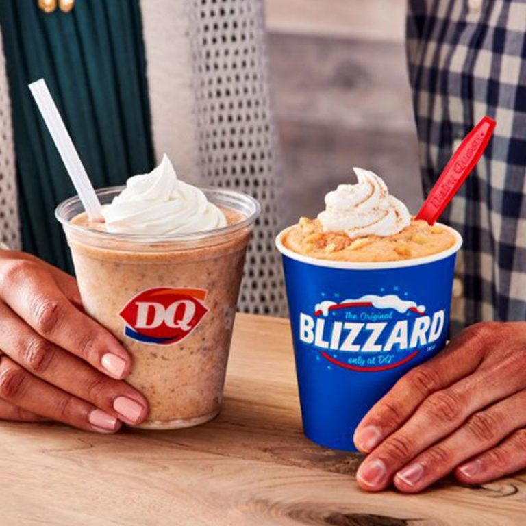 Dairy Queen Has a New Pumpkin Cookie Butter Shake and I'm On My Way