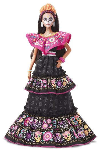 day of the dead barbie 2021 feature from Amazon
