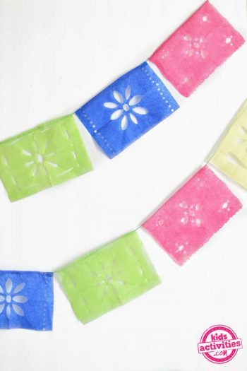 How to Make a Papel Picado Banner for the Day of the Dead