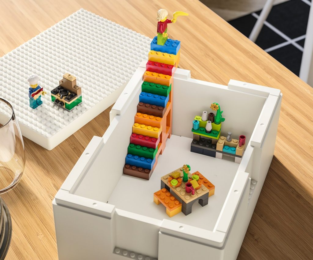 IKEA LEGO Storage Containers
