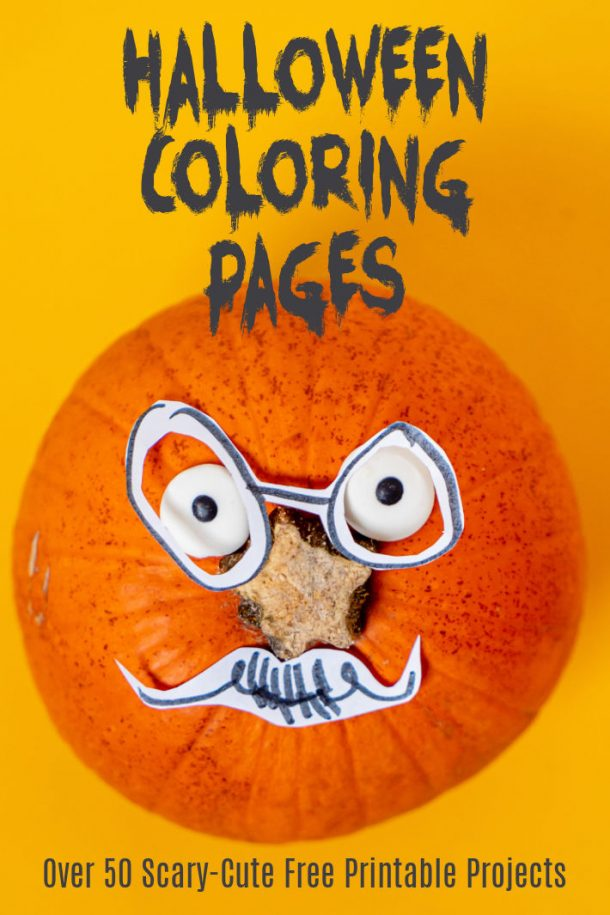 50 Halloween Coloring Pages - Free Printable Projects