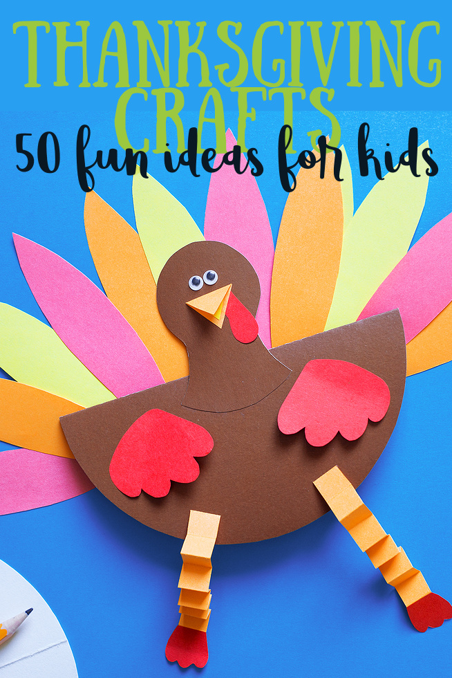 50 fun Thanksgiving crafts for kids