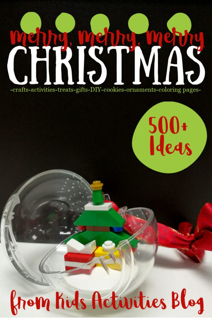 500 Christmas ideas from Kids Activities Blog