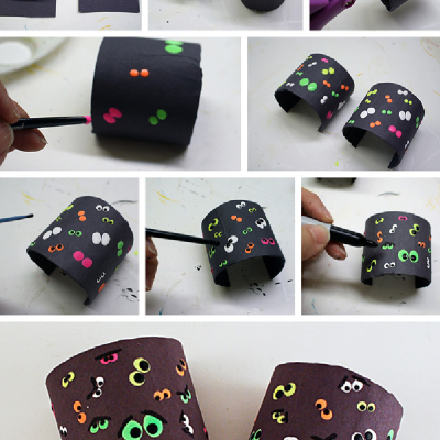 Your Child Will Love These Spooky DIY Halloween Bracelets