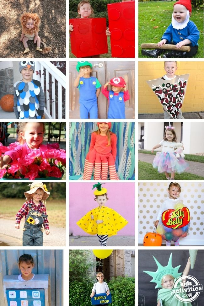 Dress Up Your Kids! Check Out These 30 Enchanting DIY Costumes for Halloween.