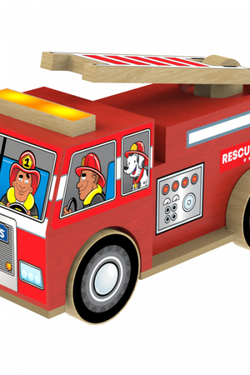 Lowe's Build and Grow Firetruck