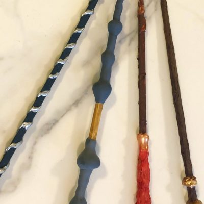 Harry Potter Crafts: Magically Make Your Own Wand