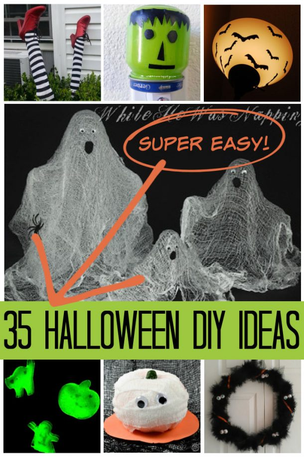 Halloween DIY Ideas that are Super Easy to Make at Home