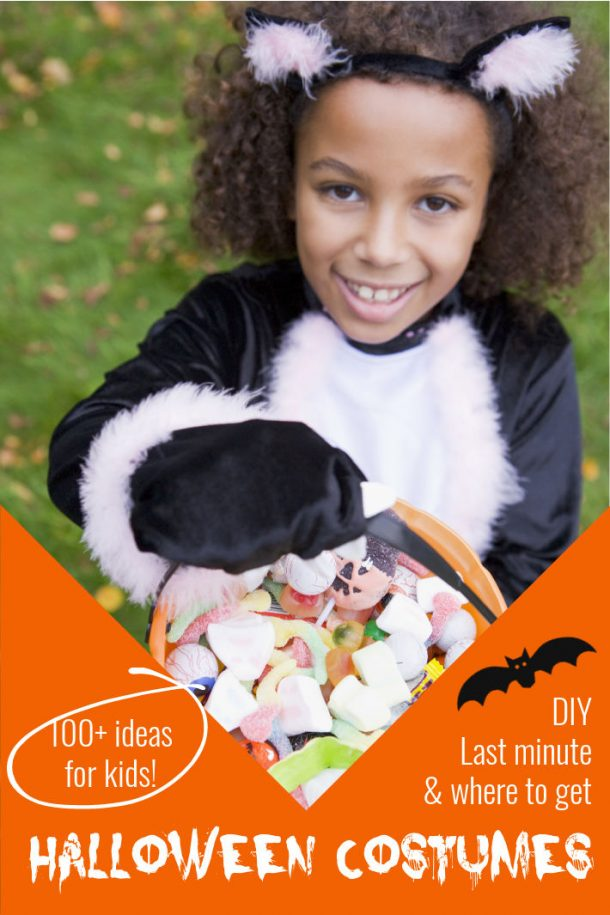 Halloween costumes - 100 ideas for kids - DIY