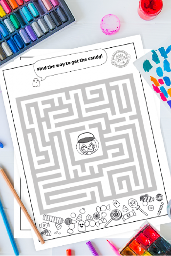 Here Is How To Download Halloween Printables Mazes