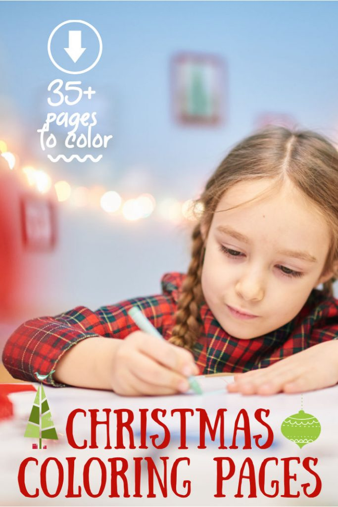 35+ Best Festive & Free Printable Christmas Coloring Pages For Kids KAB