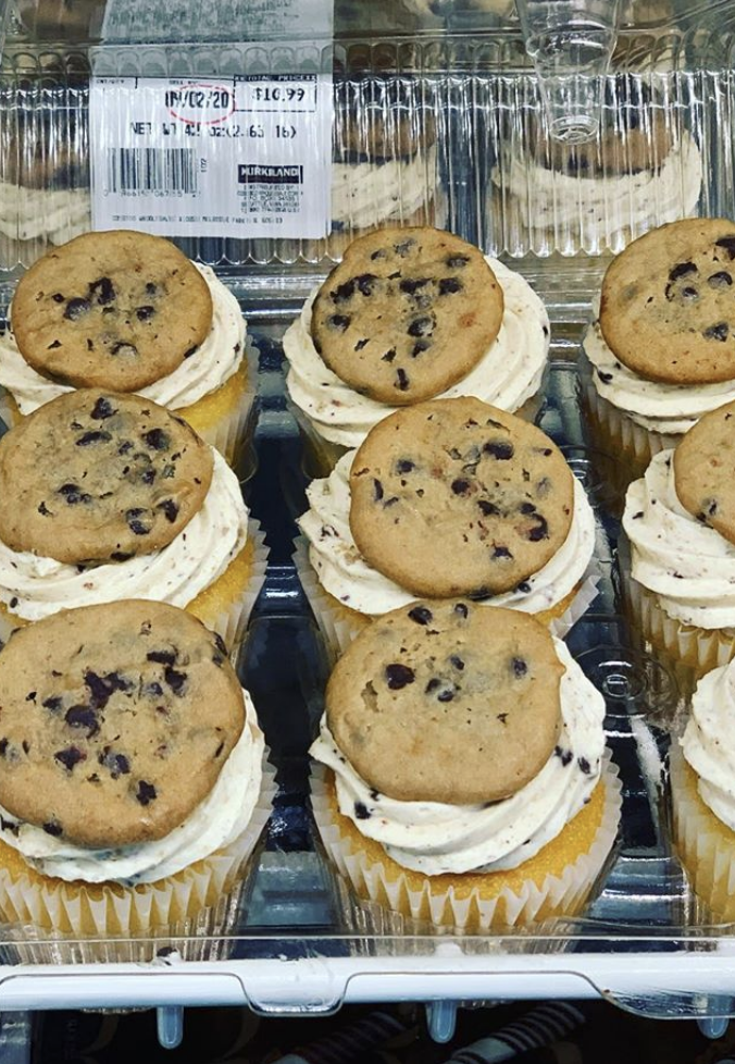 Costco is Selling Cookies and Cream Cupcakes and I'm On My Way