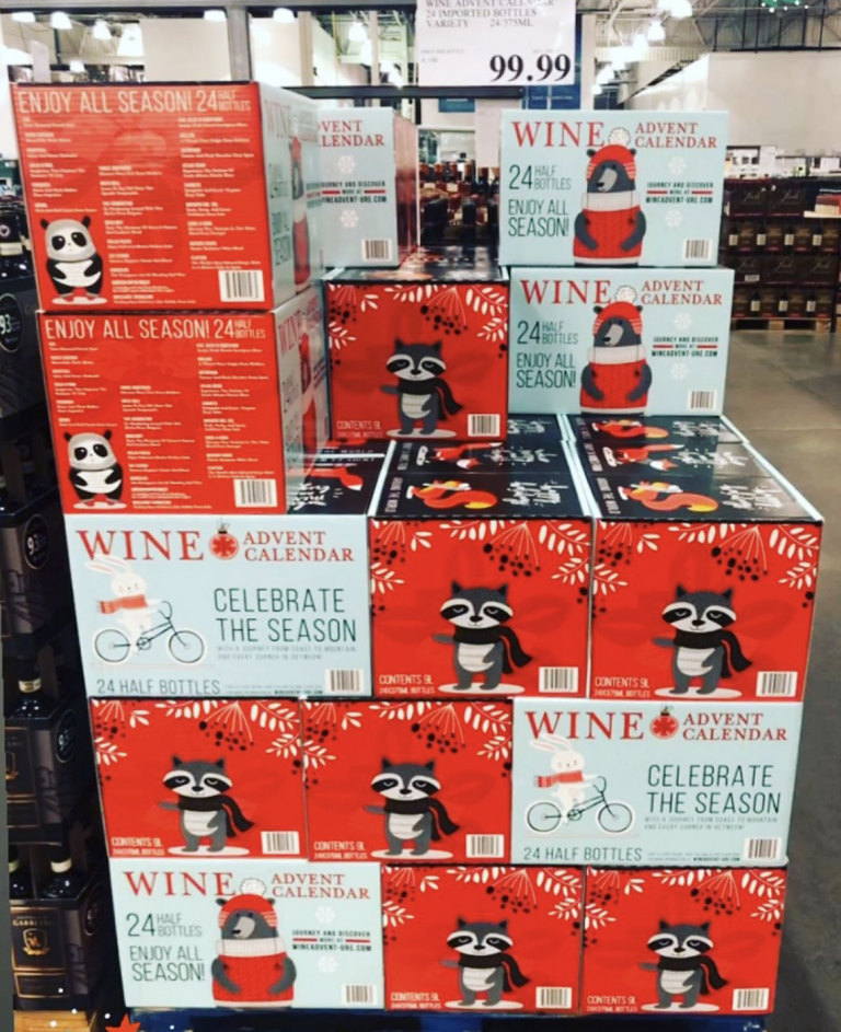 Costco's Famous Wine Advent Calendars Are Back Earlier Than Ever And I'm On My Way