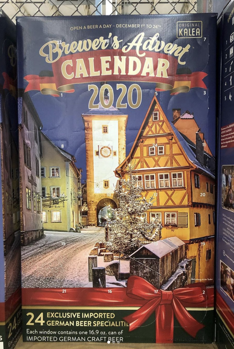 Costco Is Selling An Advent Calendar That Is Stuffed With Beer So, Cheers To That