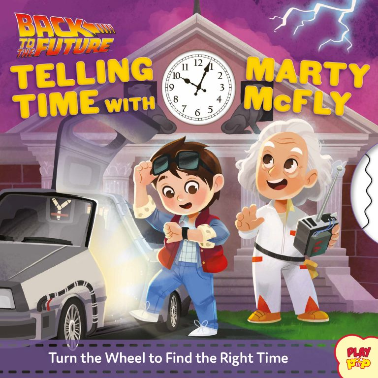 You Can Teach Your Kids Time and Opposites With These Back to the Future and Dark Crystal Themed Books