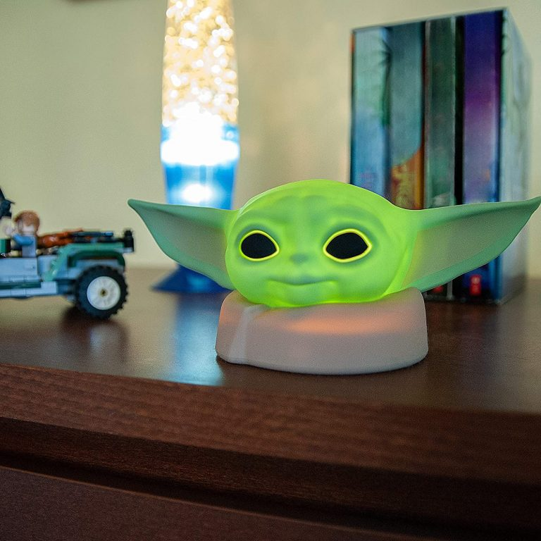 You Can Get An Adorable Baby Yoda Night Light and I Want One For Myself