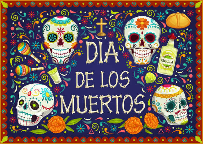 Let's Celebrate! Day of the Dead Activities for Kids |Printables, Facts &  Food