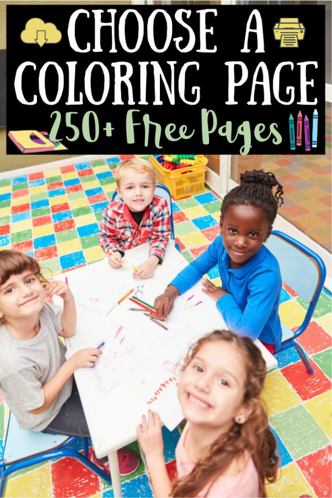 250+ Free Original Coloring Pages For Kids & Adults Kids Activities Blog
