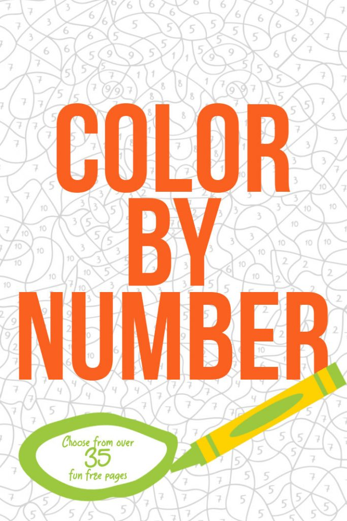21 Free Color By Number Printable Worksheet Sets For Kids Kids Activities Blog