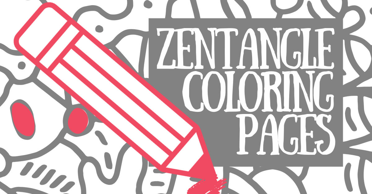 75+ Beautiful Zentangle Art Patterns & Designs: Relaxing Coloring Pages