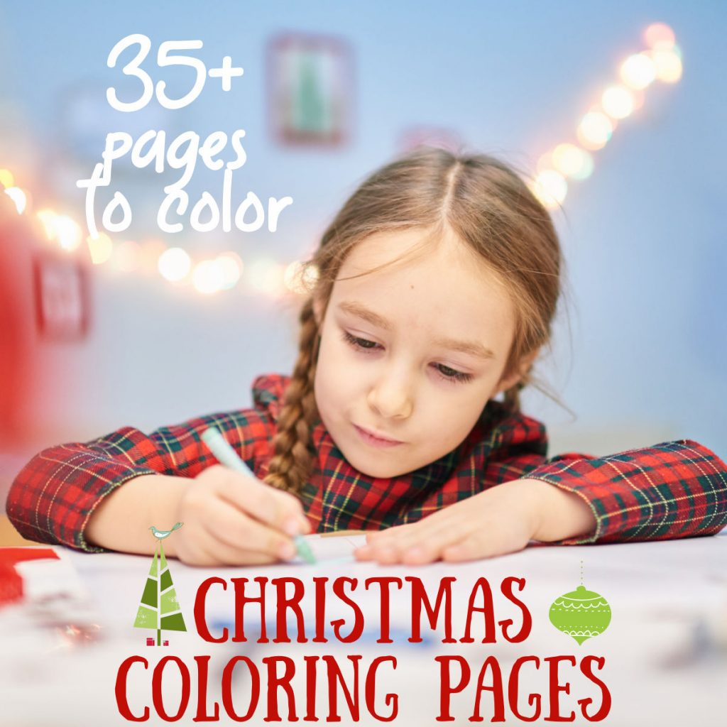 Printable Christmas coloring pages - Kids Activities Blog