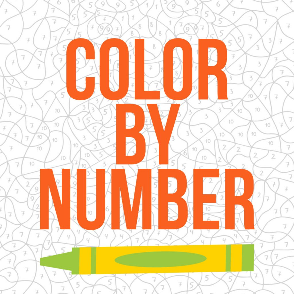 color by number for kids printable pages from Kids Activities Blog - color by number printable
