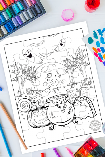 Download These Free Printable Halloween Puzzles for Kids