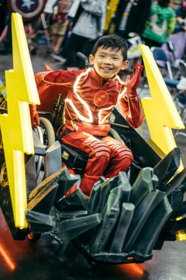 This Company Makes Free Halloween Costumes For Kids In Wheelchairs and My Heart Is Full