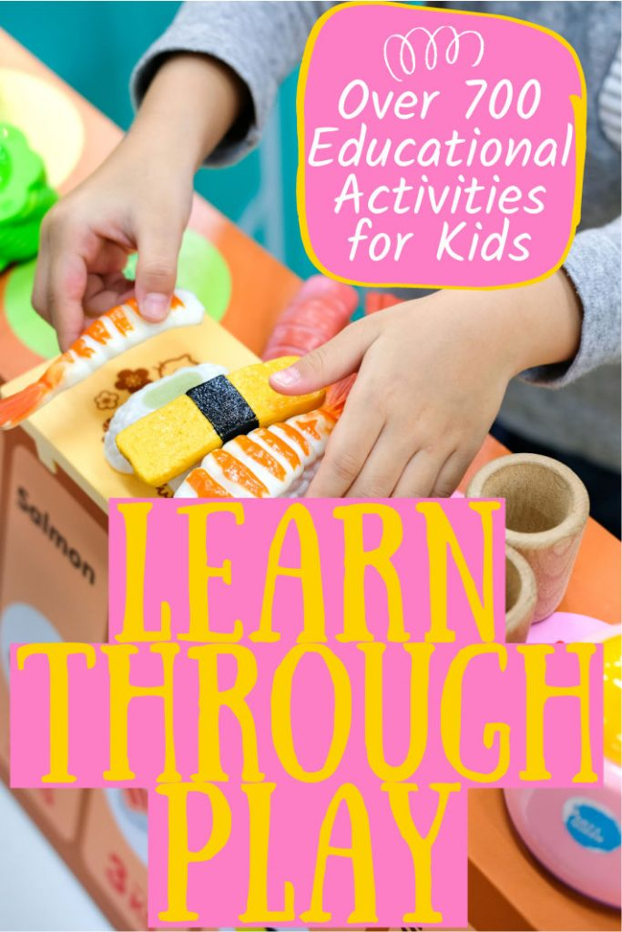 learning activities for kids of all ages learn through play