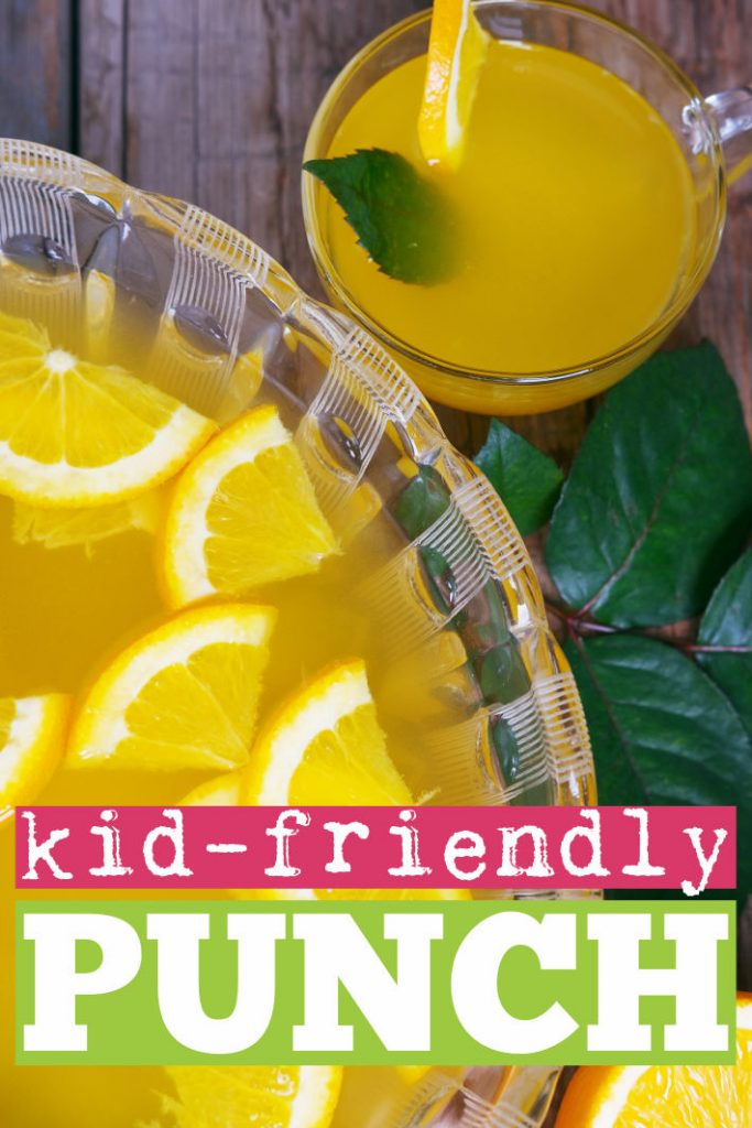 punch recipes - kid friendly