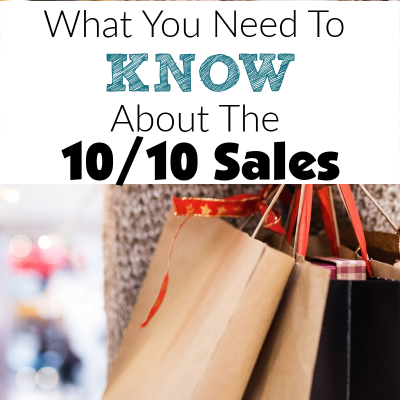Here Is What You Need To Know About The 10/10 Holiday Sales