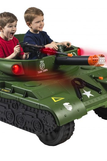 Thunder Tank Ride-on Toy