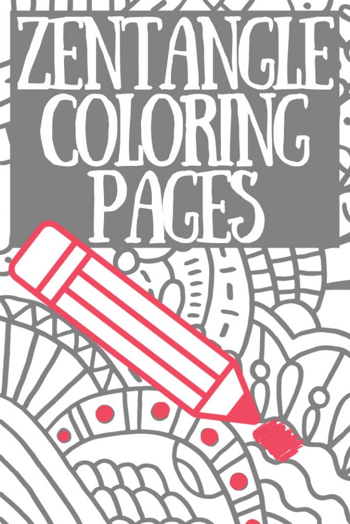 - 50+ Beautiful Zentangle Art Patterns & Designs: Relaxing Coloring Pages