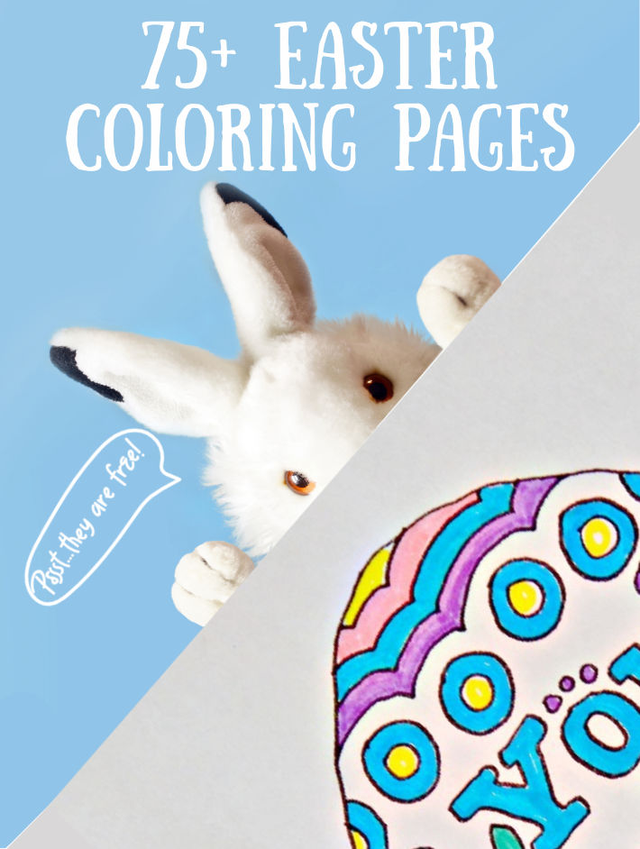 85+ Cutest Free Easter Coloring Pages For Kids Kids Activities Blog